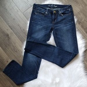 American Eagle Skinny Jeans- 4 Long (2)
